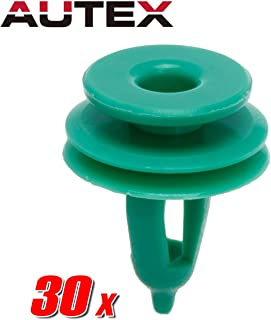 PartsSquare 30pcs Car Retainer Clips Plastic Fastener Kits Fender Liner Fastener Rivet Auto Body Push Clips Retainer Replacement for Chrysler/Dodge/Jeep/Plymouth
