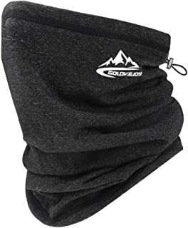 Winter Fleece Bandana Neck Gaiter Warmer Face Cover Scarf Shield Cold Weather Windproof Mask for Men and Women