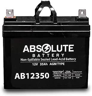AB12350 12V 35AH SLA Battery Replacement for Clore Automotive JNC080 JNC950
