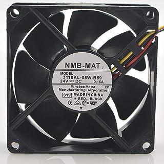 for NMB 3110KL-05W-B598CM 802524V 0.15A 8CM 3-Wire Inverter Cooling Fan