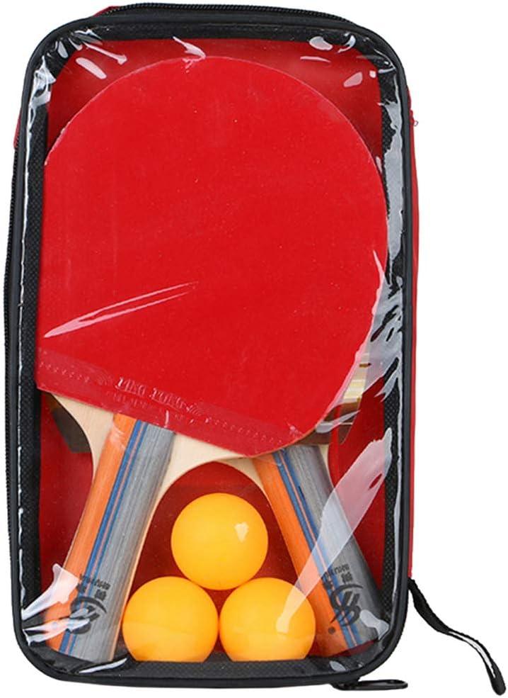 Garneck 1 Set Atlanta Mall Ping Pong Professional Tennis Rac Fashion Paddle Table