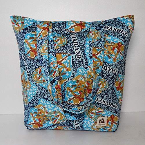 Virine carry-all padded cloth tote, shoulder bag, laptop bag, diaper bag, everyday bag, school bag, travel bag