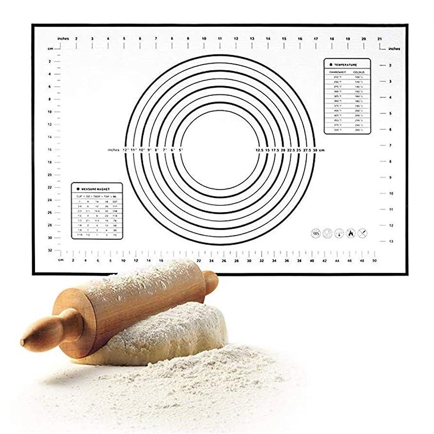 ビジネスモーション適用するクッキングマット 測定ケーキSugarcraftパンがシリコンベーキングマットを作るとノンスティック洗える洋菓子マット シリコンマット