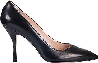 STUART WEITZMAN Luxury Fashion Womens TIPP95BLACKLEATHER Black Pumps   Spring Summer 19