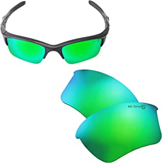 Walleva Replacement Lenses Or Lenses With Rubber Kit for Oakley Half Jacket 2.0 XL Sunglasses