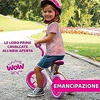 Chicco Pink Comet Bicicletta Bambini Senza Pedali 2-5 Anni, Bici Senza Pedali Balance Bike per l'Equilibrio, con Manubrio e Sellino Regolabili, Max 25 Kg, Rosa, Giochi Bambini 2-5 Anni #7
