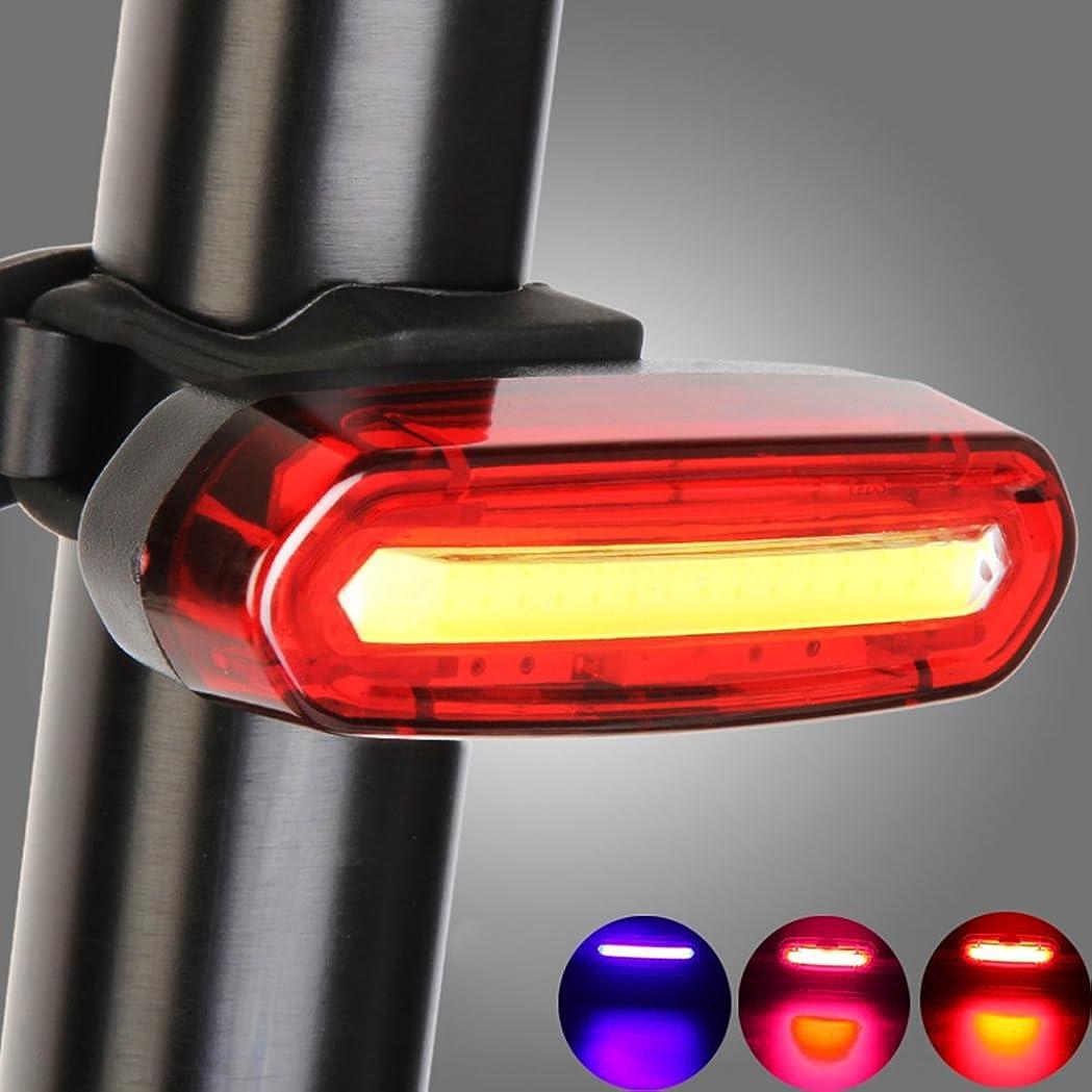 乳かご役に立たないYakamoz USB充電式自転車テールライト 高輝度LED 省エネLEDテールランプ 6モード 防水 点滅 サイクルライト