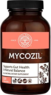 Global Healing Center Mycozil - Natural Candida Support, Encourages Gut Health, 120 Capsules