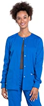 Cherokee Workwear Professionals WW340 Women's Snap Front Warm-up Jacket