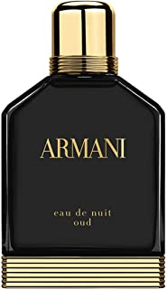 Armani Eau de Nuit Oud by Giorgio Armani for Men - Eau de Parfum, 50ml