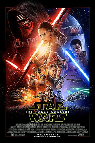 Ship from USA - Star Wars Episode VII The Force Awakens Movie Poster Glossy Finish - FIL335 (24