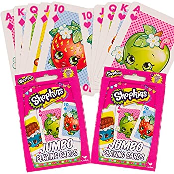 Shopkins Playing Cards -- Set of 2 Decks, Jum | Shopkin.Toys - Image 1