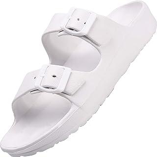 Lvptsh Zuecos de Hombre Zapatillas de Estar por Casa Pantuflas Zapatos de Jardín Zapatillas de Playa Sandalias Clogs de Ve...