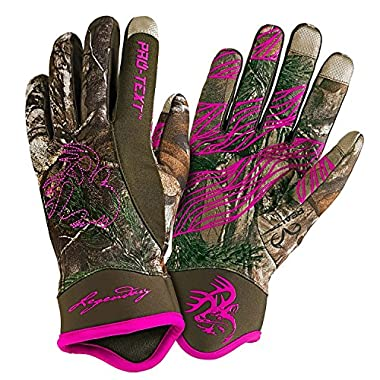 Legendary Whitetails Ladies Spider Web II Pro Text Glove Medium
