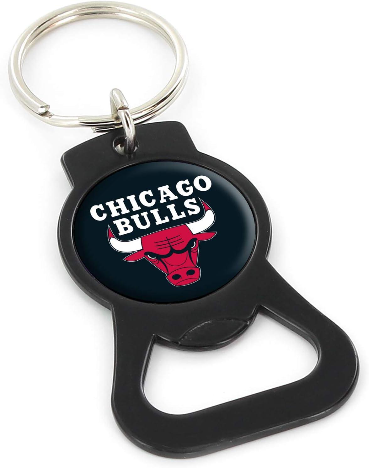 aminco NBA Mens Bottle Opener Key Ring