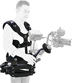 DF DIGITALFOTO Thanos Pro 5.5-20 lbs Video Camera Gimbal Support Vest Adapter Arm Stabilizer System Compatible with Ronin S Zhiyun Crane 2 PK Tiffen Steadimate-S