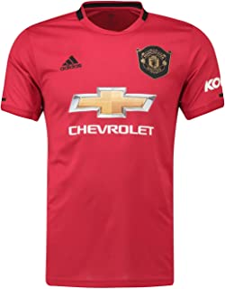 Manchester United FC Official Soccer Gift Mens Home Kit Shirt Jersey 2019/20