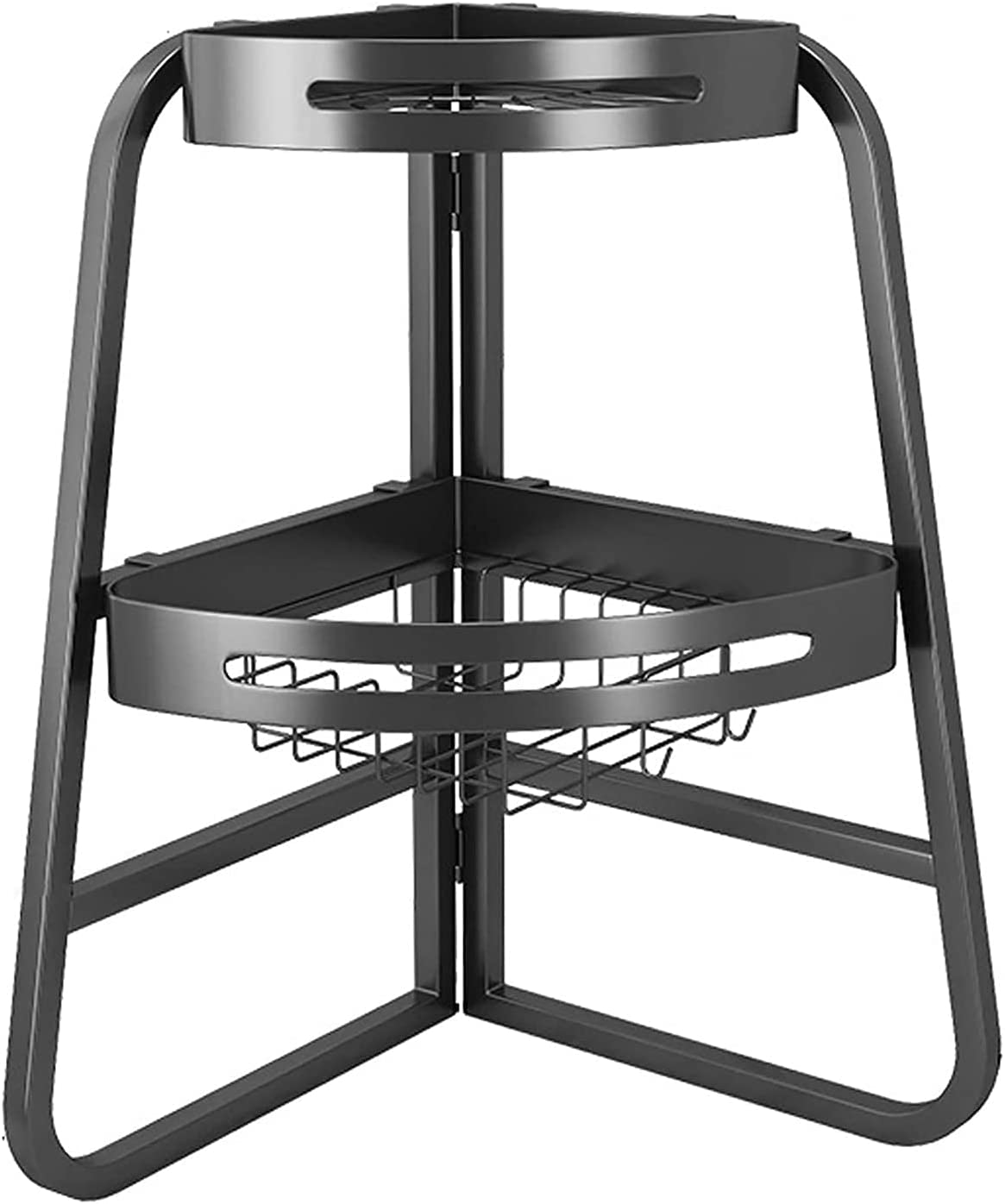 Kitchen Dish Drying Rack Sturdy 2021new shipping free Bargain for 2 Triangle Tier Drainer