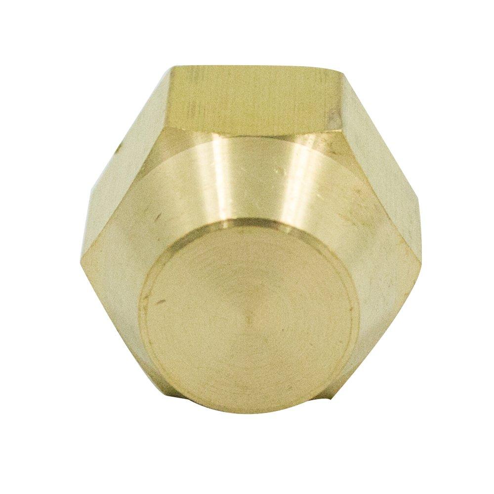 Vis Brass Recommendation CA360 Flared Tube Kansas City Mall Fitting 3 45 Cap Flare SAE Degree
