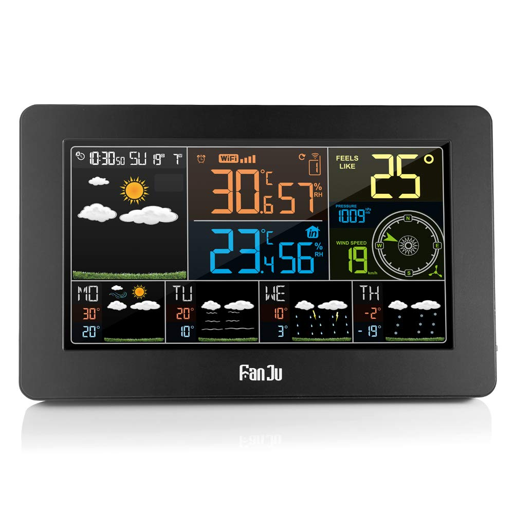 FanJu Weather Station Temperature Humidity
