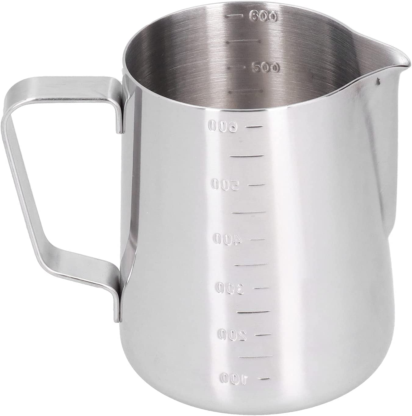 Coffee Milk Frother depot 600ML Stainless Frothing Steel Pitcher With overseas