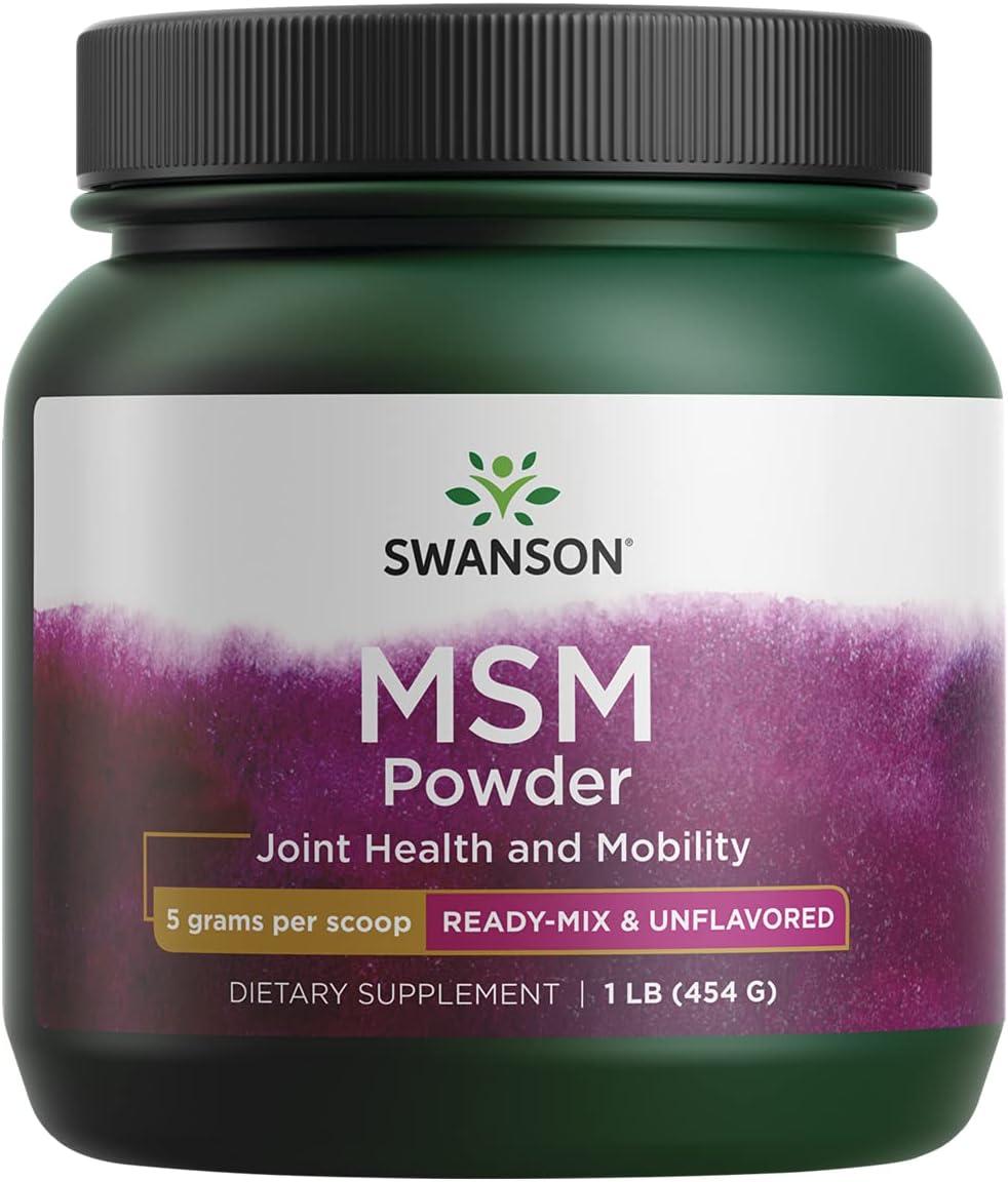 Swanson Msm Powder shipfree 1 Pwdr g lb Now free shipping 454