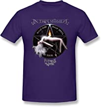David Wollaston in This Moment Maria Brink Whore Mens T-Shirt Purple