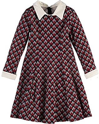 Bonnie Jean Long Sleeve Knit Sweater Dress
