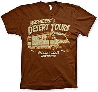 Breaking Bad T Shirt Heisenbergs Desert Tours nuevo Oficial de los hombres negro