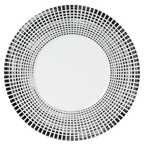 Table Passion - Plat rond 31 cm noir astral