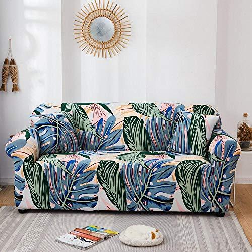 Protector de Sofá Cubre para Sofá,Funda de sofá elástica con Todo Incluido para Muebles de Sala de Estar, Funda de sofá, Funda de sofá de 1/2/3/4 plazas, Color 18_145-185cm