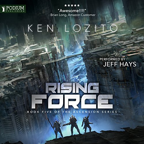 Rising Force audiobook cover art
