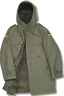 German Men's Army NATO Parka