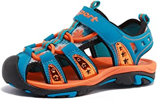 CIOR Fantiny Girl's Boy's Sports Sandals Open Toe Athletic Beach Shoes (Toddler/Little Kid/Big Kid)