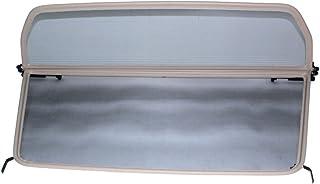 1995-2002 - Negro TiefTech Deflector de Viento para Rover MG F Descapotable Deflector de Aire Parabrisas para descapotable Deflector de Viento