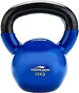Soomloom ケトルベル PVCコーティング 滑り防止 キズ防止 体幹トレーニング