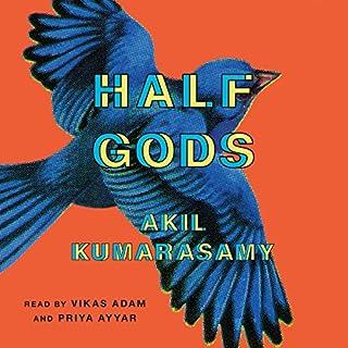 Half Gods audiobook cover art