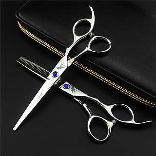 Professional Hair Snijden Schaar 6,0 Inch Japan 4CR RVS Set, High Quality Finger Rest Kapper Schaar (Light And Sharp)