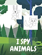 I Spy Animals: Coloring Book for Kids Perfect Gift Holiday