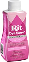 Rit DyeMore Advanced Liquid Dye for Polyester, Acrylic, Acetate, Nylon and More, Super Pink