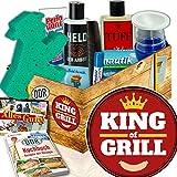 King of Grill / DDR Pflege Box Mann / Geburtstag Geschenk Mann