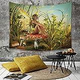 Tapestry,Hippie Tapiz,tapiz de pared con decoración para el hogar,Decoración infantil, el...