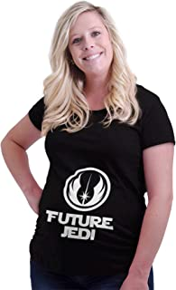 Future Jedi Vader Pregnancy Expecting Baby Maternity T Shirt
