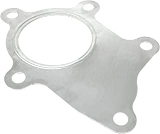PitVisit PV Raceworks T3/T4 Turbo Discharge 5 Bolt Gasket Stainless Steel Compatible with Garrett Precision PTE Turbonetics Turbocharger