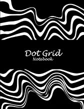 """Dot Grid Notebook: Black Art Work, 8.5"""" X 11"""" Dot Grid Sketchbook Journal, Daily Notebook to Write In, Dotted Journal"""