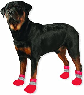 Paw Tectors by Pedigree Perfection International Inc. Water Proof Boot, Small, Red
