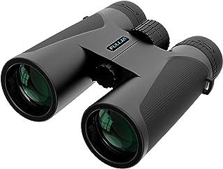دوربین دو چشمی فشرده FULLJA 12x42 HD برای بزرگسالان ، دوربین دوچشمی با قدرت فوکوس آسان و قدرت بالا با دید کم نور BAK4 Prism FMC Lens ، دوربین دوچشمی ضد آب برای سفر ، تماشای پرندگان ، شکار ورزش در فضای باز