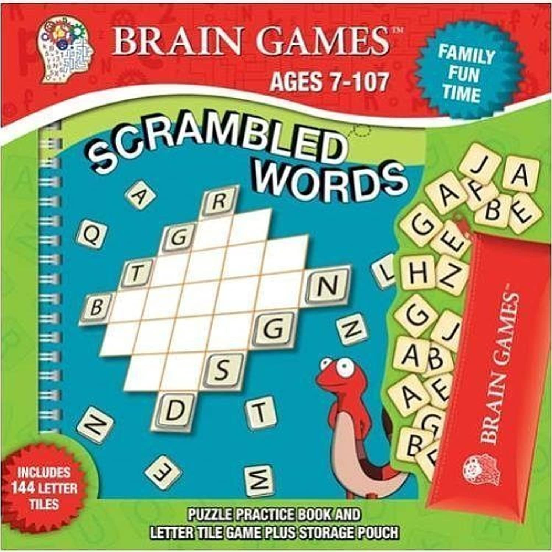 Brain Games Scrambled Words Box Set