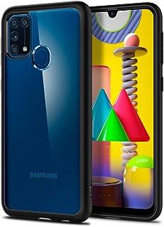 Spigen Ultra Hybrid Back Cover Case Designed for Samsung Galaxy M31 - Matte Black