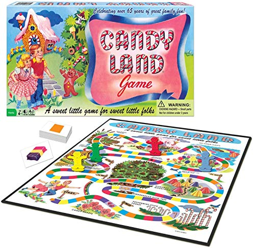 Winning Moves Games Candy Land 65th Anniversary Game, Multicolor (1189)